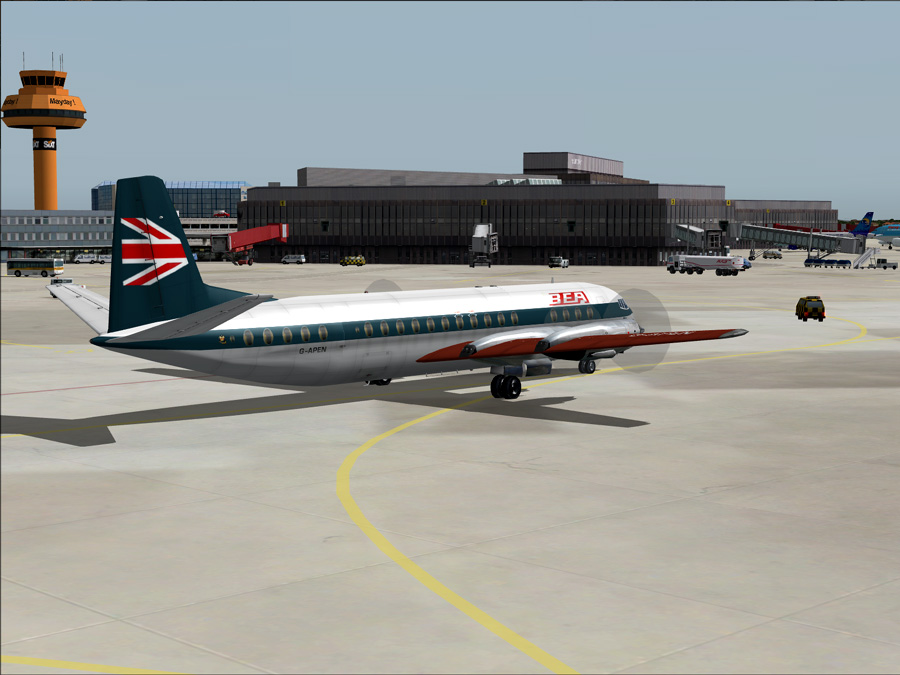 The Vickers Vanguard. I joined BEA on 12th October 1964 but it wasn't until